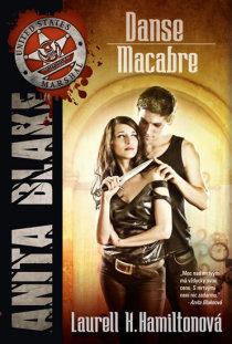 obálka knihy Laurell K. Hamiltonové Danse Macabre - Anita Blake 14