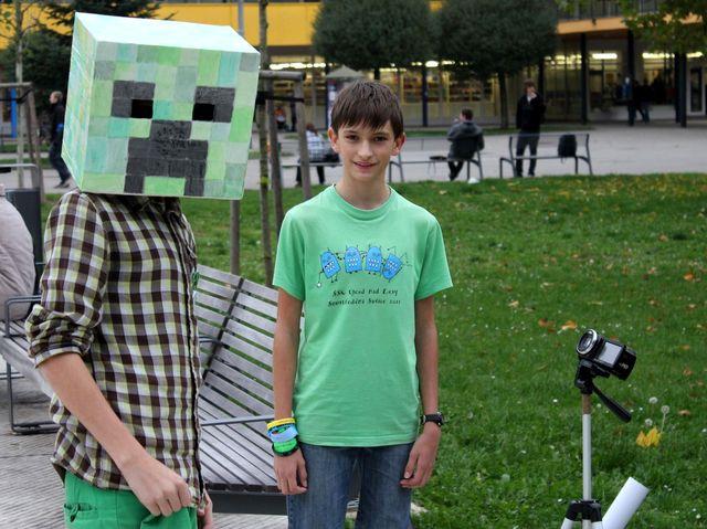 FOTO: Fanoušci hry Minecraft