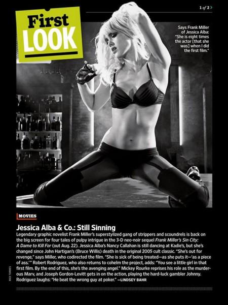 Jessica Alba je stále pořádná roštěnka. Zdroj: Dimension Films