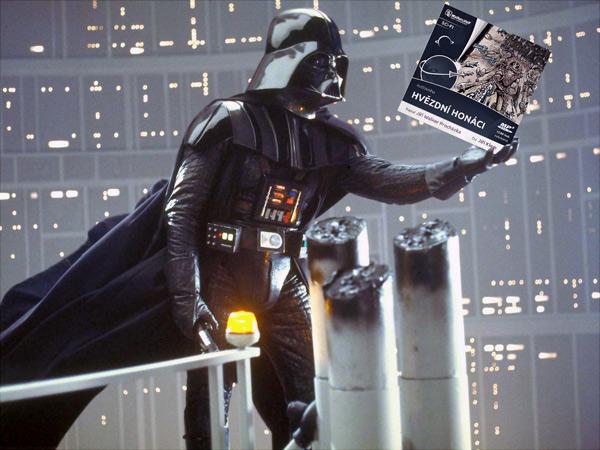 FOTO: Hvězdné honáky načetl hlas Darth Vadera