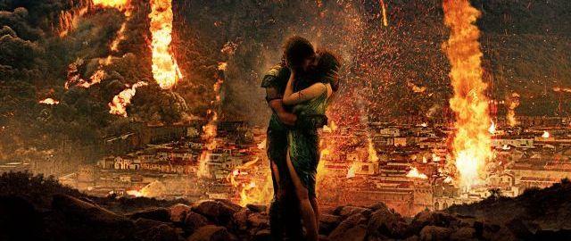Pompeje jsou typickou romancí pro zamilované páry. Zdroj: Bontonfilm