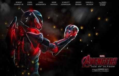 Opravdu pěkný plakát k Avengers: Age of Ultron. Zdroj: Marvel