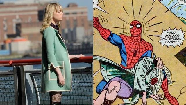 FOTO: Amazing Spider-Man 2 - Gwen Stacy