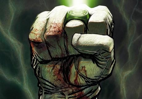 Chtěli byste vidět jeho rozzářený prsten i v jednom z DC seriálů? Zdroj: http://www.deviantart.com/art/Green-Lantern-cover-part-2-245321616