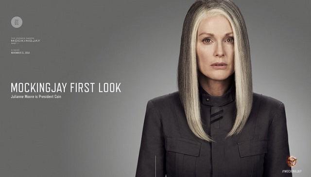 Prezidentka Coinová. Zdroj: Lionsgate
