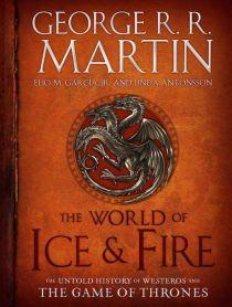 Svět ledu a  ohně. Zdroj: obálka knihy.