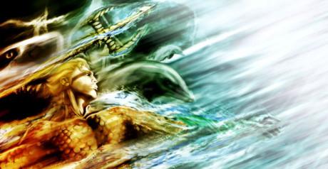 Aquaman. Zdroj: http://leonardoenrique.deviantart.com/