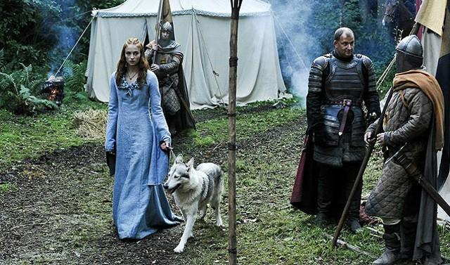 FOTO: Hra o trůny - Sophie Turner - HBO
