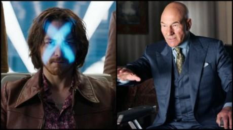 FOTO: James McAvoy a Patrick Stewart jako Profesor X
