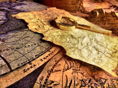 OBR: Mapa pokladů