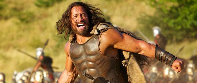 The Rock se na roli Hercula perfektně hodí. Zdroj: Forum Film CZ