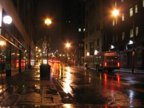 Typickým dějištěm urban fantasy jsou noční ulice města. foto: Richard Lockard - stockvault.net