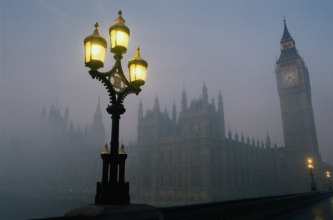 OBR: Fog in London