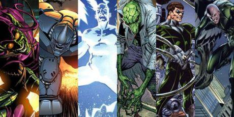 Jakou podobu budou mít filmoví Sinister Six? To se dozvíme již 10. 11. 2016. Zdroj: Marvel Comics