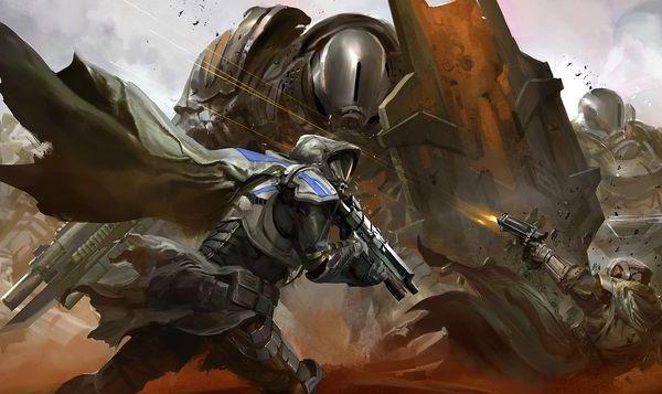 Destiny vyniká především výrazným grafickým zpracováním. Zdroj: Bungie.net