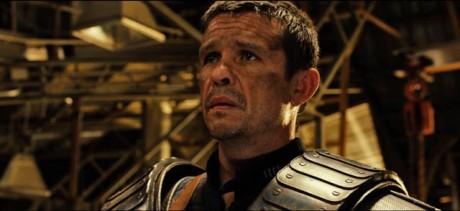 Matt Nable ve filmu Riddick