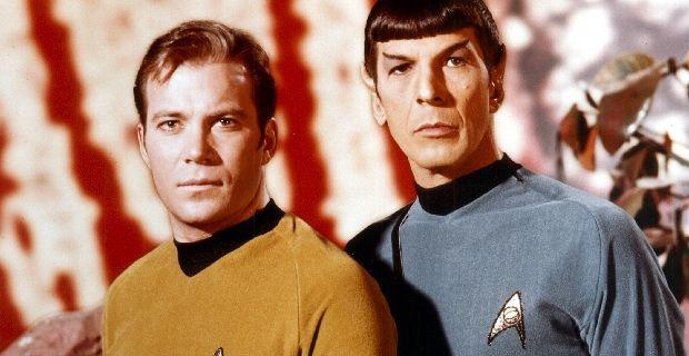 Původní Kirk a Spock... Zdroj: Paramount Pictures