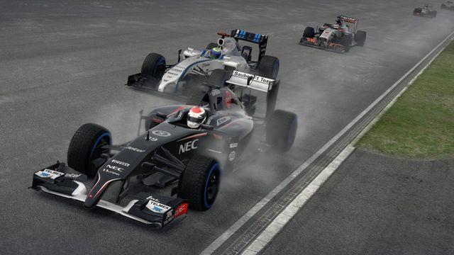 F1 priorita závodící formule
