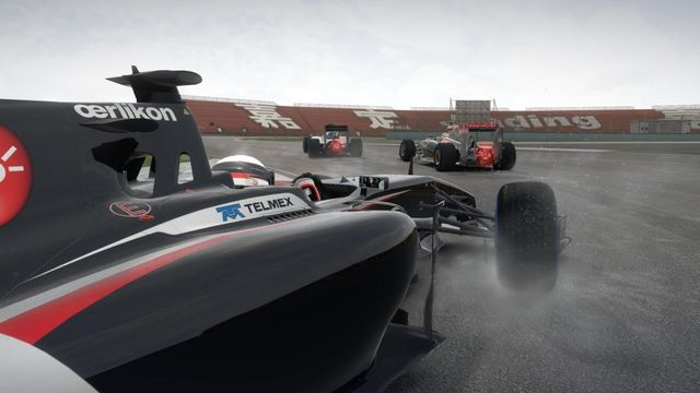 F1 za deště
