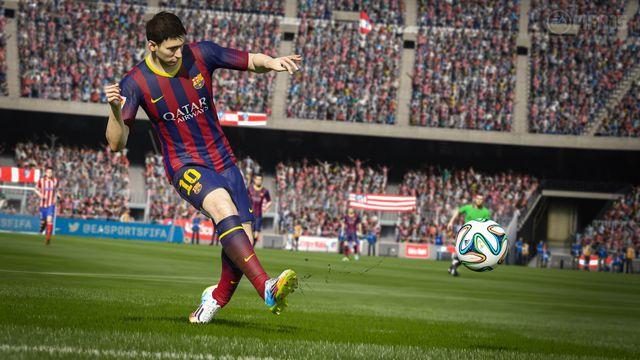 Hlavní tváří nového ročníku FIFA je Argentinec Messi. Zdroj: easports.com