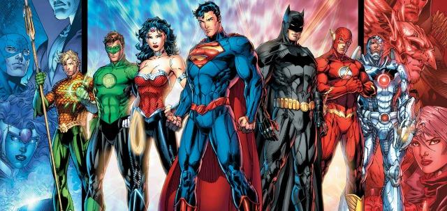 Komiksová Justice League. Zdroj: DC Comics
