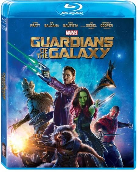 Obal k Blu-Rayi Strážců Galaxie. Zdroj: marvel.com