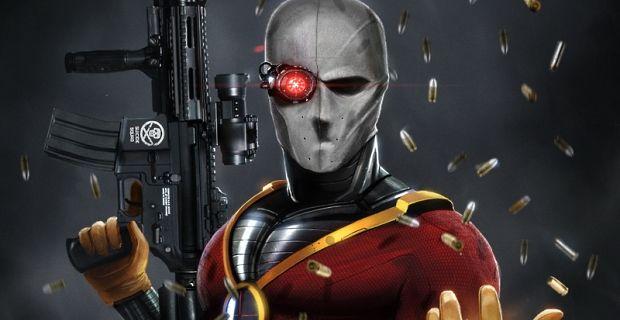 Jeden z možných členů filmové Suicide Squad - Deadshot. Zdroj: DC Comics