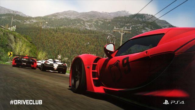 DriveClub nabízí především perfektní grafiku a realisticky vypadající přírodní prostředí. Zdroj: Vydavatel hry