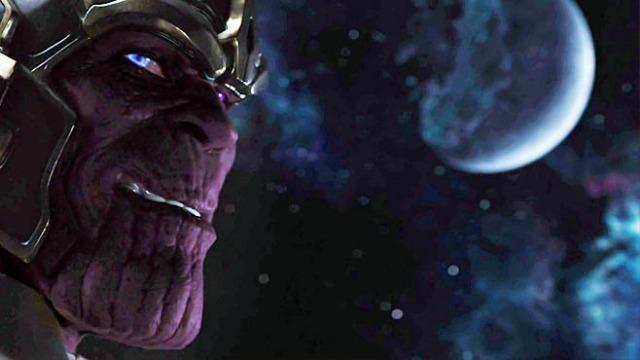 Thanos z prvních Avengers. Zdroj: Marvel