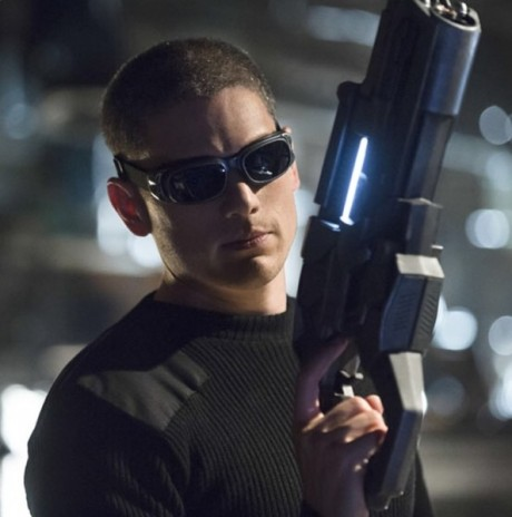 Wentworth Miller jako Captain Cold. Zdroj: Instagram Geoffa Johnse