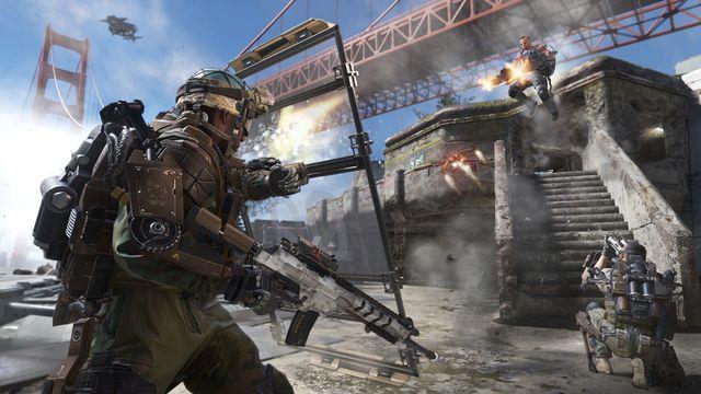 Advanced Warfare vykresluje bojiště poloviny 21. století s nejrůznějšími technologickými vymoženostmi. Zdroj: callofduty.com