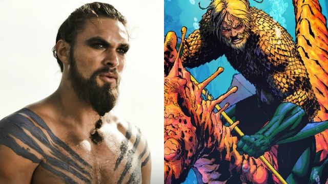 FOTO: Jason Momoa bude Aquaman
