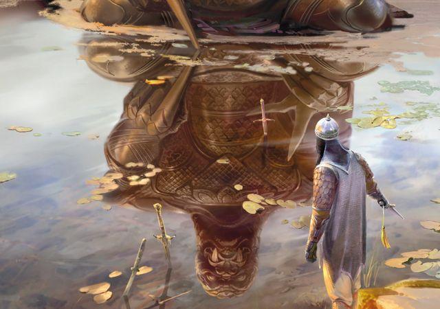Cesta meče vede skrz přátelství, loajalitu a lásku. Zdroj: výřez knižní obálky.