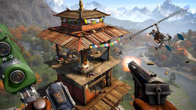 Far Cry 4 útok na outpost