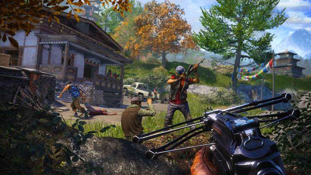 Far Cry 4 útok