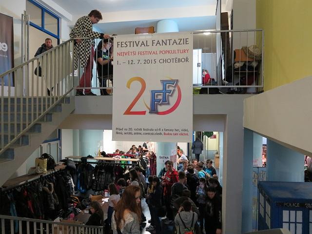 Pozvánka na 20. ročník Festivalu Fantazie. Foto: Jan Neuman