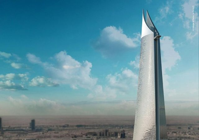 Al Noor Tower, projekt, Zdroj: www.v-p.com