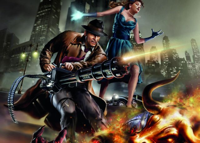 Nová série akční urban fantasy Larryho Correiy. Zdroj: výřez knižní obálky.