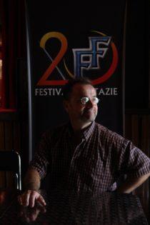 David Nykl pózuje pro Festival Fantazie 2015. Zdroj: FF: Roman Randalf Kresta