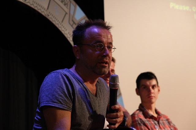David Nykl na besedě Festivalu Fantazie 2015. Zdroj: FF: Roman Randalf Kresta