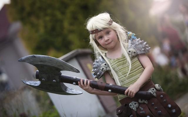 Kostým si na FF 2015 oblékly i některé děti. Foto: Lukáš Krása