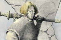 Leif musí v románu Jdi a přines hlavu krále čelit mnoha nástrahám, když chce nakonec vládnout Dánsku. Zdroj: výřez knižní obálky.