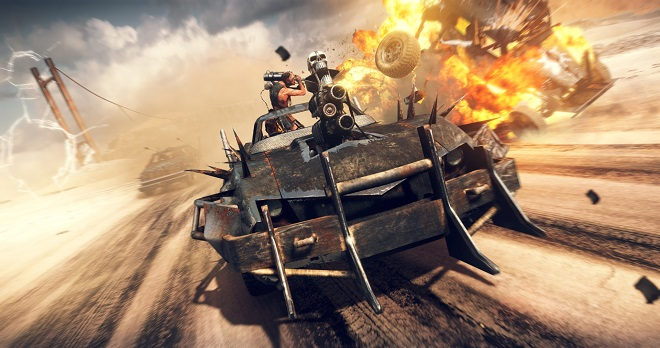 Mad Max souboje muscle cars