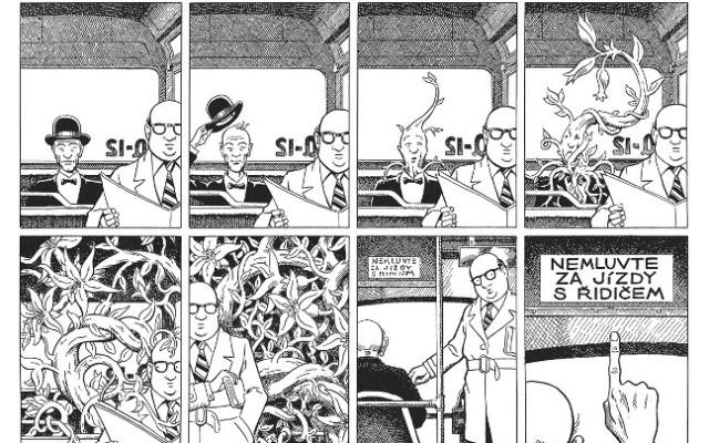 ukazka Paul Kirchner: Autobus