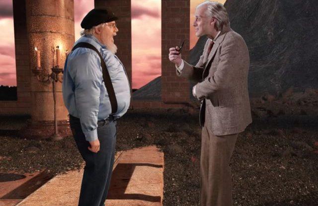 J. R. R. Tolkien vs George R. R. Martin. Epic Rap Battles of History. Season 5 YouTube