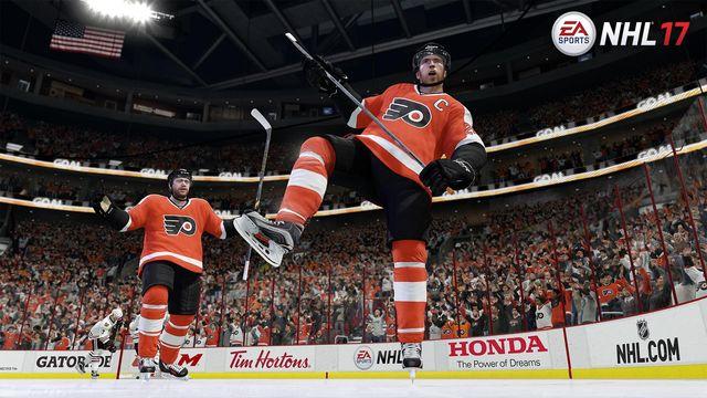 Recenze NHL 17 Philadelphia