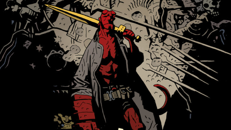 RECENZE komiksu Mika Mignola Hellboy: Bouře a běsy