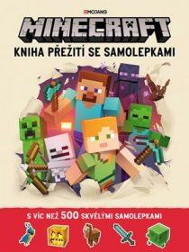 Kolektiv: Minecraft - Kniha přežití se samolepkami