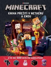 Kolektiv: Minecraft – Kniha přežití vNetheru a Endu
