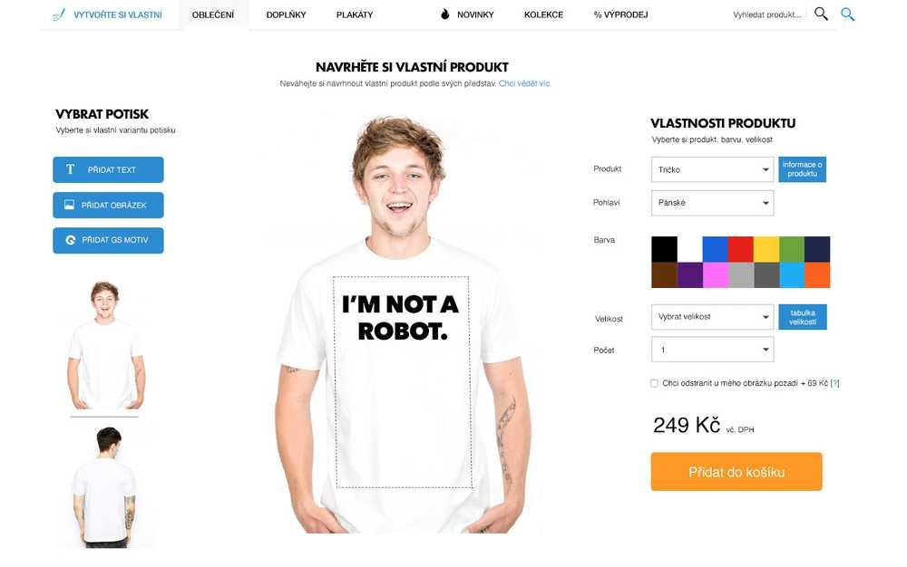 0b628adad841 GeekShirts  Navrhněte si své vlastní tričko a my jej pro vás ...